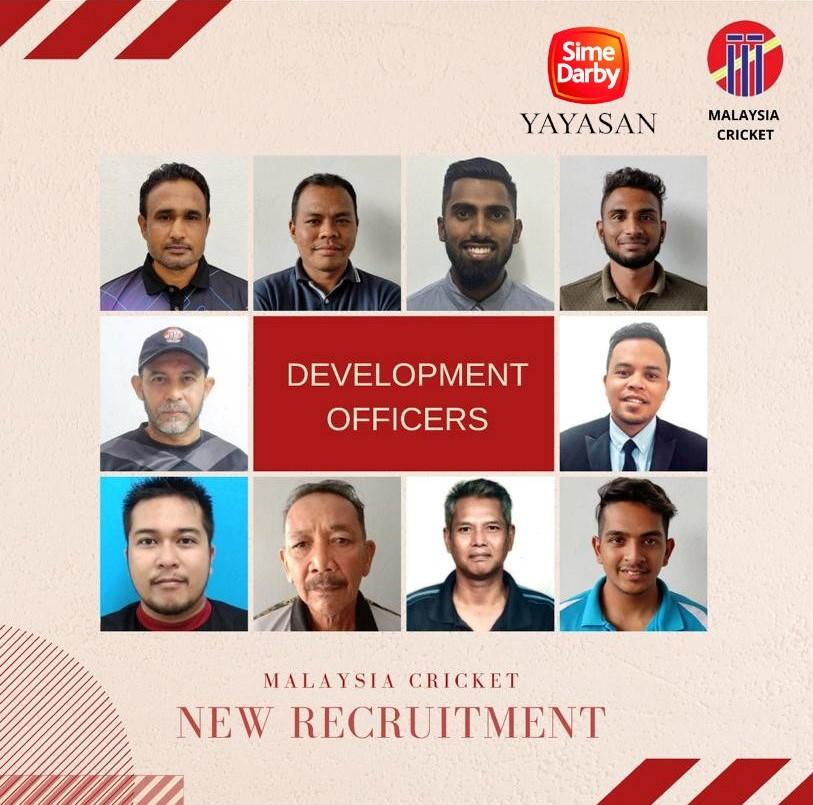 10 NEW DEVELOPMENT OFFICERS TO DEVELOP CRICKET AT THE GRASS ROOTS LEVEL