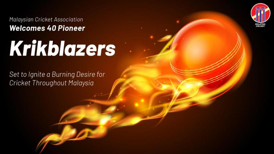 Krikblazers - Set to Ignite a Burning Desire for Cricket Throughout Malaysia