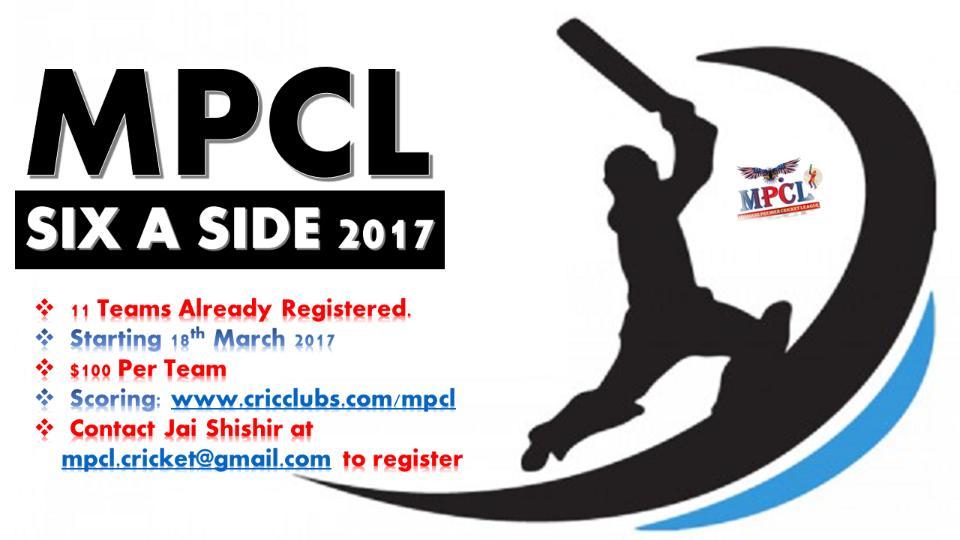 MPCL Six A Side 2017