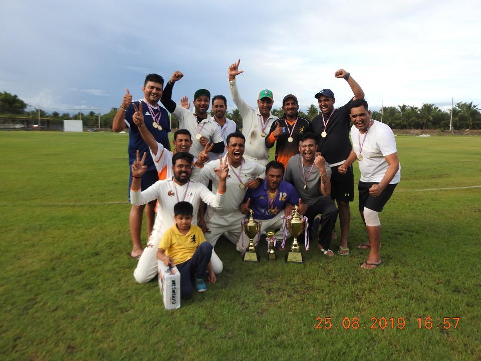 Bca cricket league Inaugural  Grand Final   - Asian Stars cc won championship