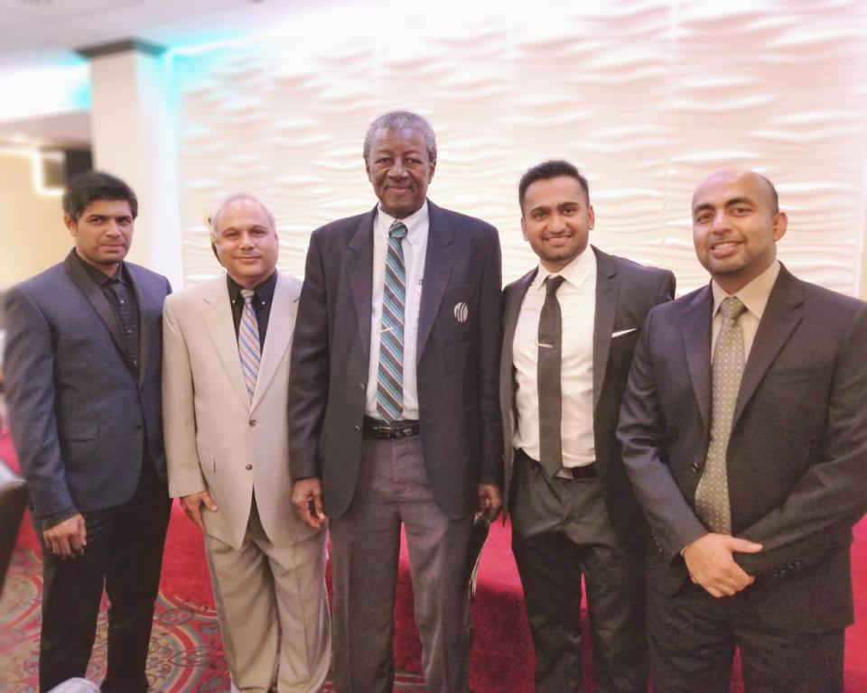 WMCB Awards Night guest speaker Steve Bucknor