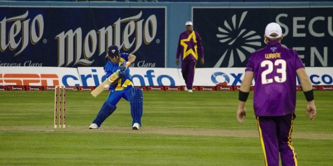 Tendulkar in action