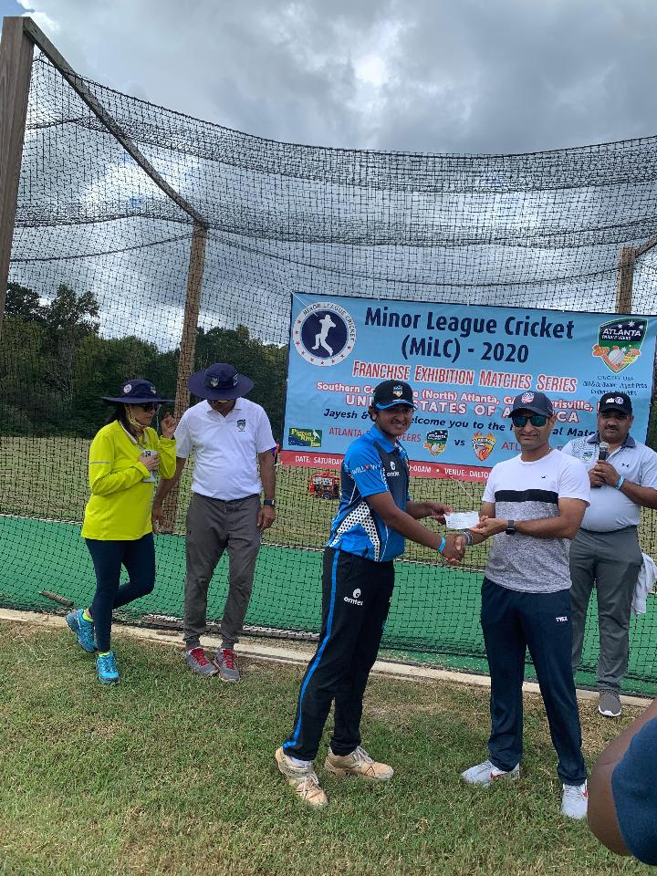 17 year old Heer Patel - Man of the Match - 1st Match Minor League Cricket - 2020