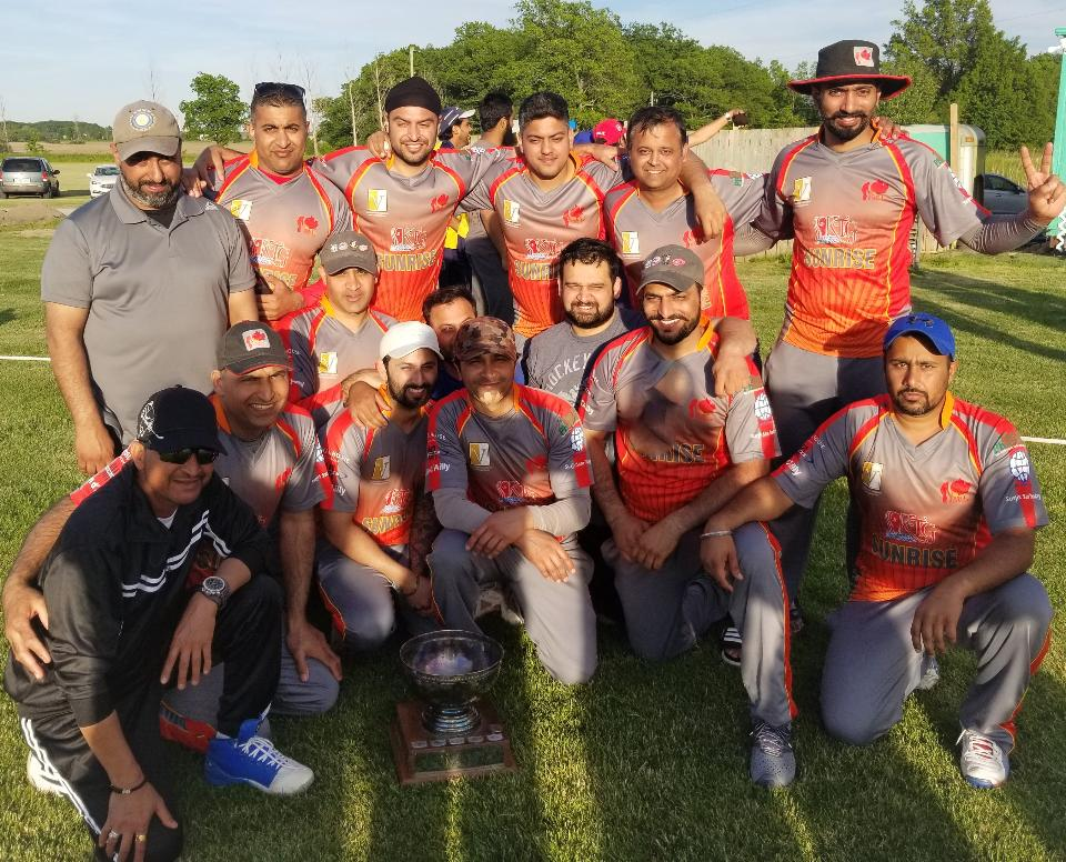 HDCL 2019 Ed Burn T20 Elite Division Champions