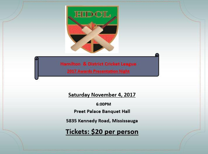2017 Awards Presentation Night - 4th Nov, 2017