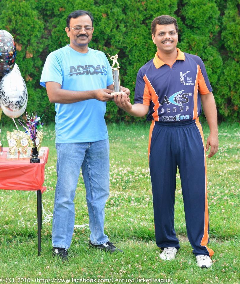 Swapnil Prabhu - Man of the Final