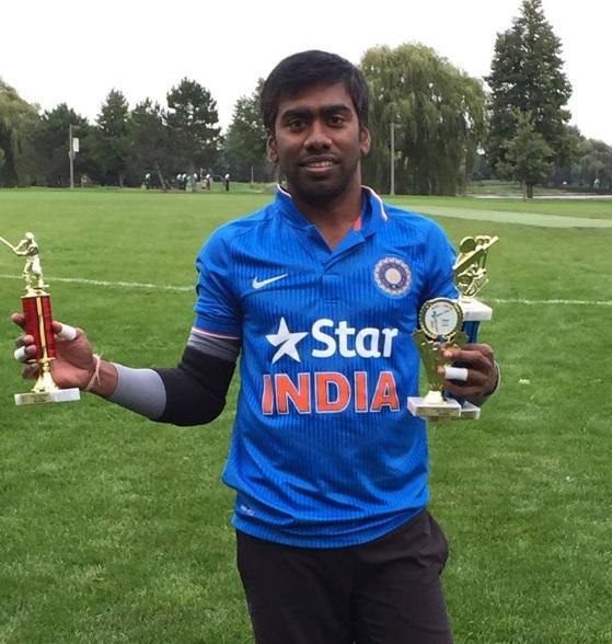Shrikanth Malathi - Best Batsman