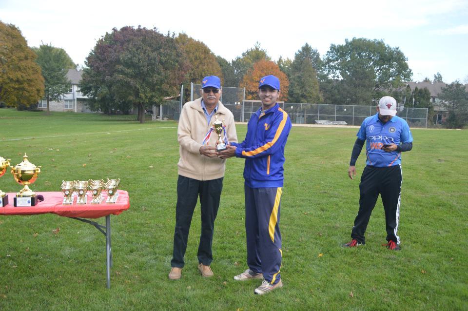 Best Batsman - Pavan Shetty (Vistex Strikers)