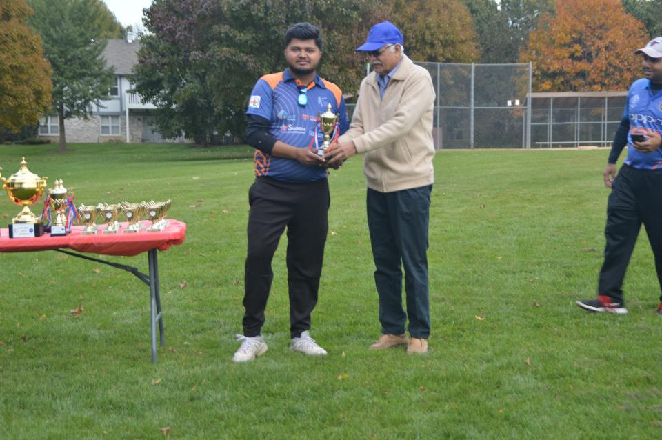 Player of the FINAL - Dhairya M (Dee park dynamites)