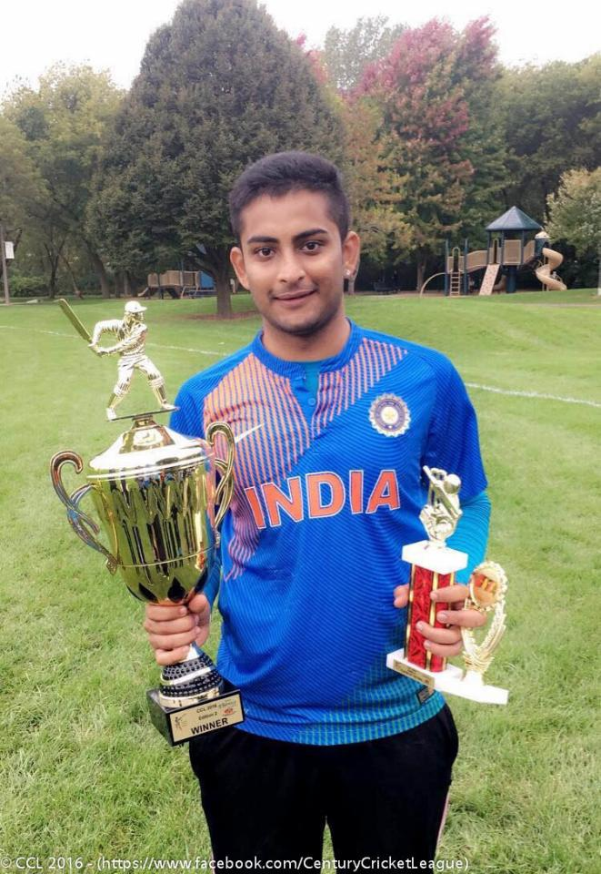 Player of the Final - Jay Patel (Dee Park Dynamites)