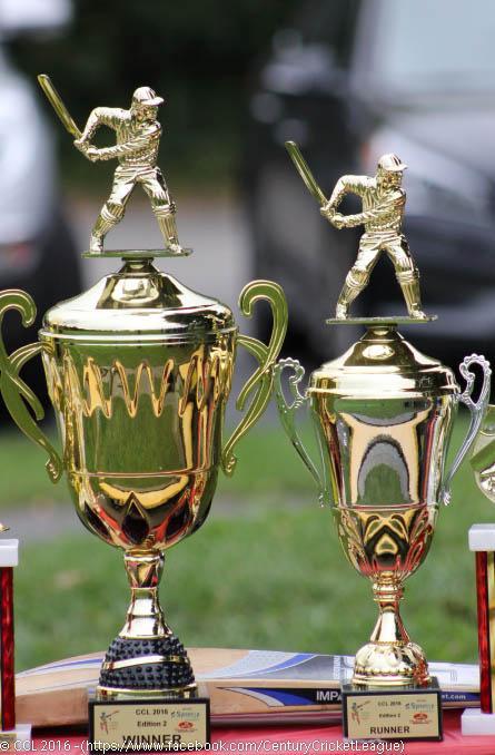 CCL 2016 Edition 2 Trophies