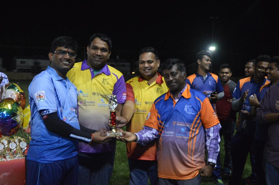 Player of the tournament (Vinod Prahad)