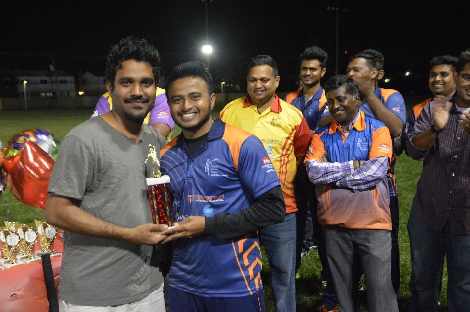 Best Bowler (Vivek Patel)
