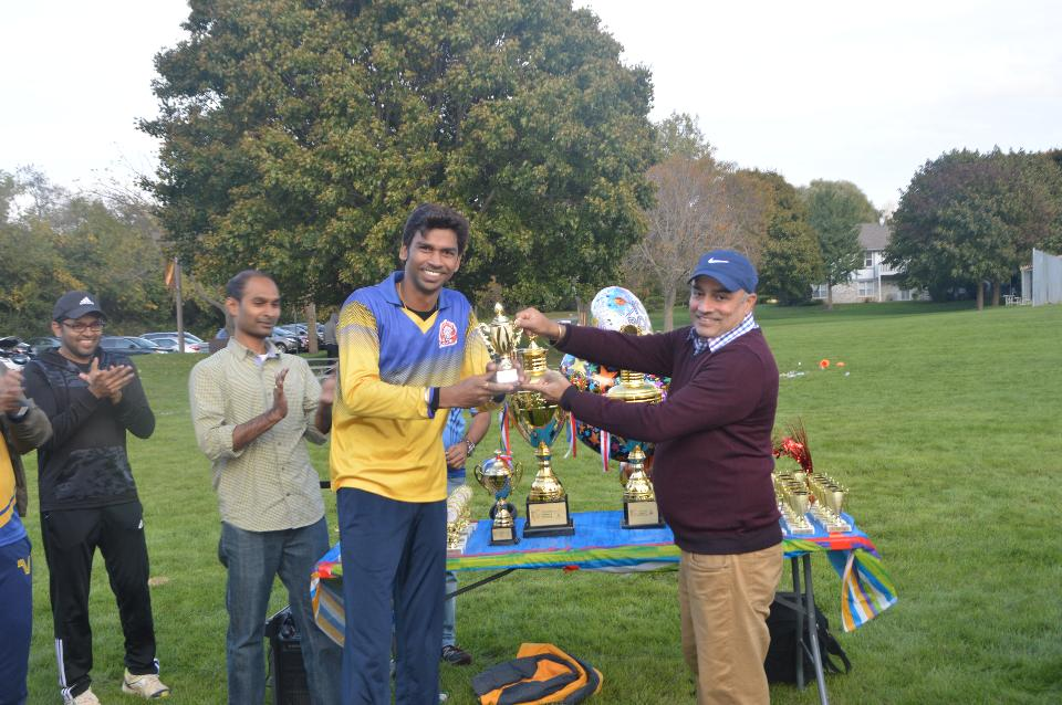 Player of the Final - Neeraj Singh