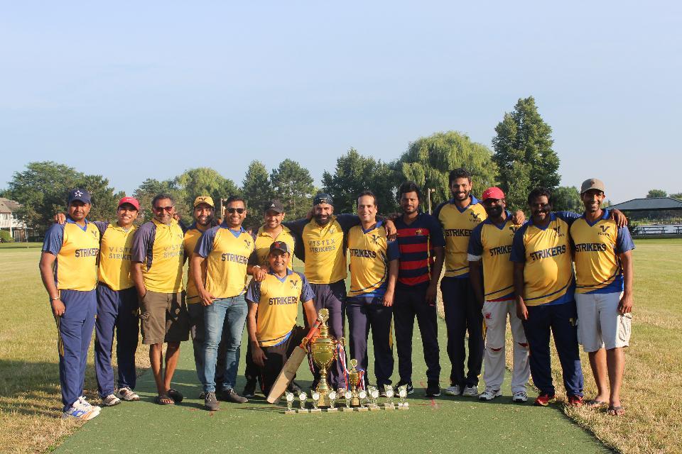 CCL 2018 Edition 1 Winners - Vistex Strikers