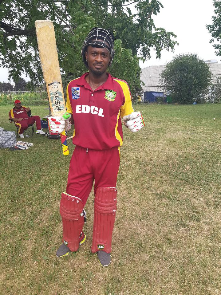 Leading runs scorer Marvin Small smashes 145runs in victory over Sunsea Boys
