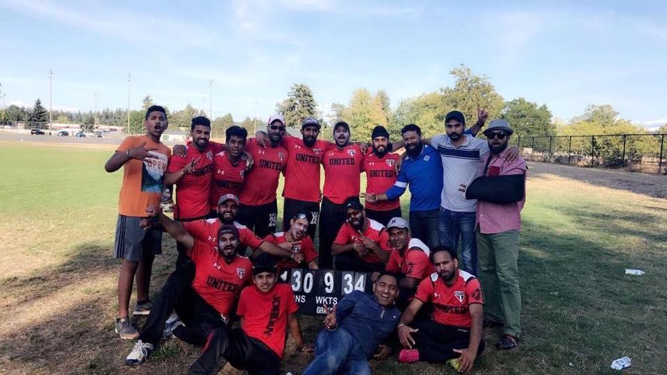 2017 Runners-up - United Punjabis : Mr & Mrs. Ravi and Neelam Walia Memorial Div A