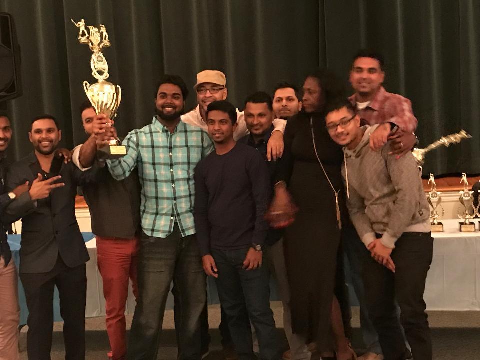 Queen City Cricket Club in Celebratory Mood