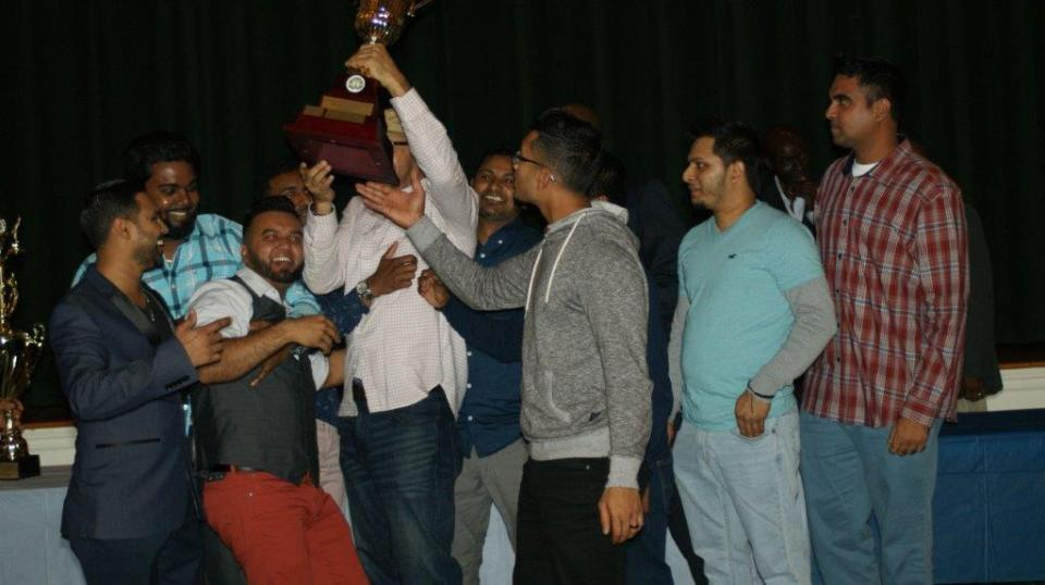 Jubilation by the members of Queen City Cricket Club (2018 presentation)