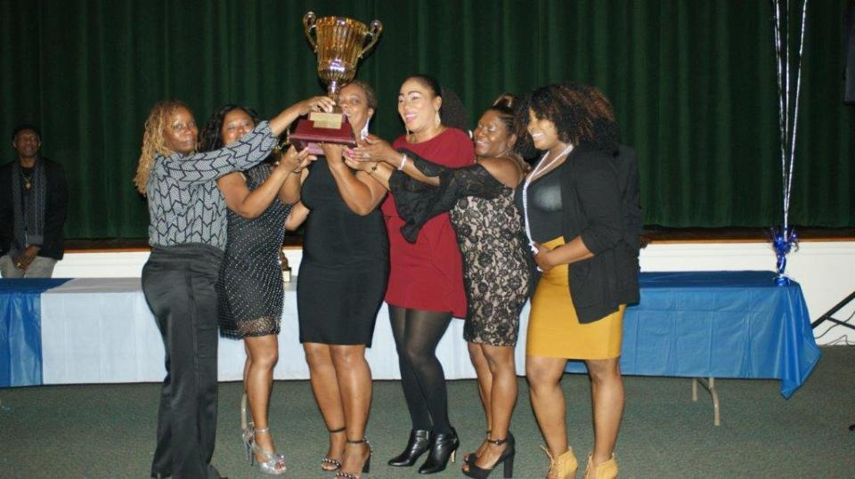 Wanderers Sports Club well represented by their female counterparts. (2018 presentation)