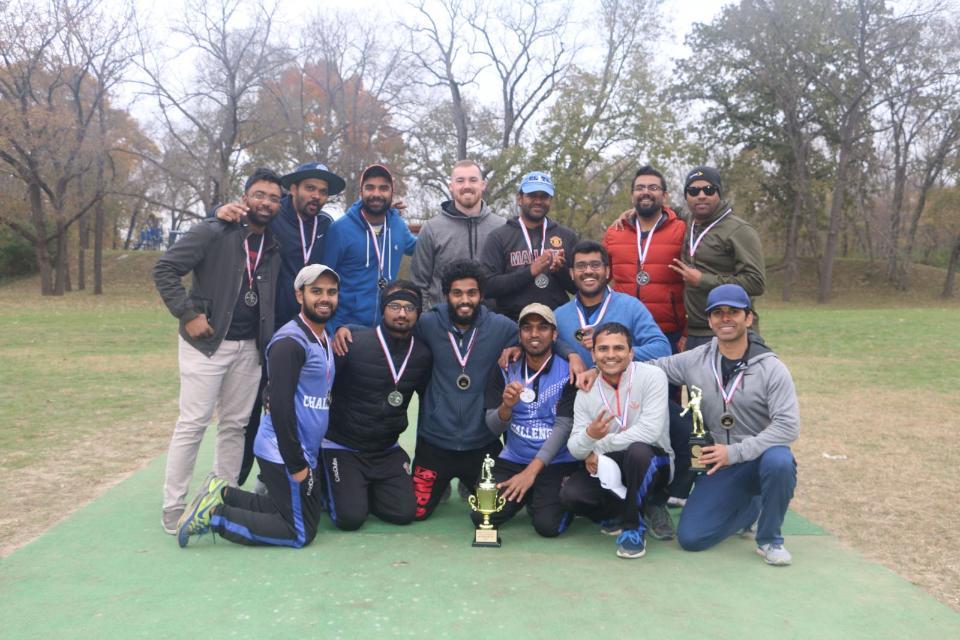 DIV A Runners UP CHALLANGERS