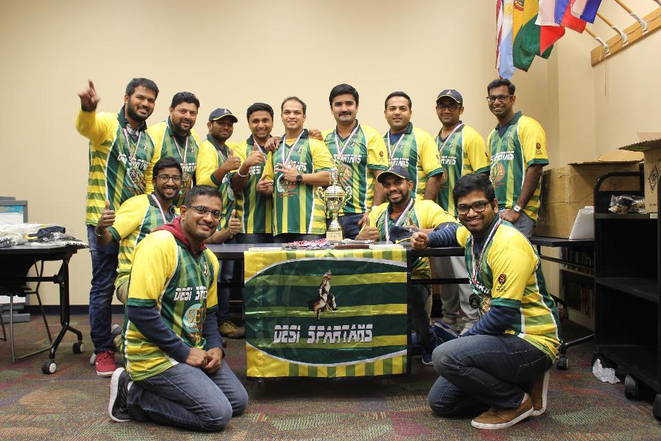 Div B runners up Desi Spartans