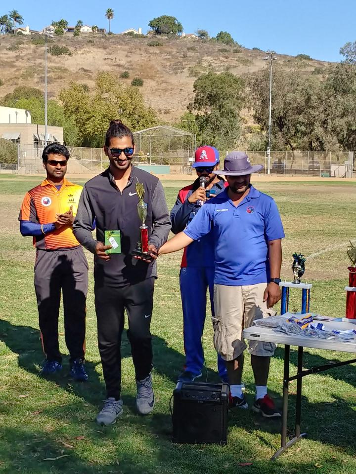 Abhinay Reddy: Div 1 Best Bowler, MVP, and Man of the Tournament